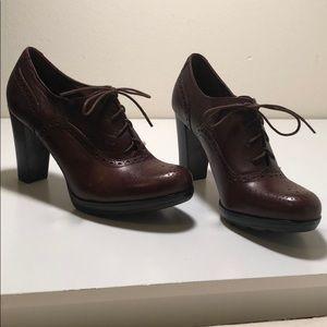 Franco Sarto Dark Brown Heel